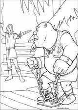Shrek The Third coloring page (041)