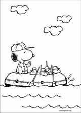 Snoopy coloring page (002)