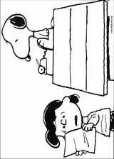 Snoopy coloring page (035)