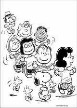 Snoopy coloring page (040)