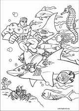 Super Friends coloring page (003)