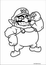 Super Mario Bros. coloring page (002)