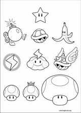 Super Mario Bros. coloring page (004)