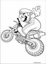Super Mario Bros. coloring page (009)