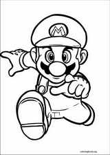 Super Mario Bros. coloring page (010)