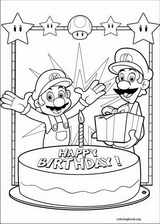 Super Mario Bros. coloring page (012)