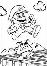 Super Mario Bros. coloring page (017)