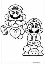 Super Mario Bros. coloring page (022)