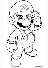 Super Mario Bros. coloring page (024)