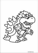 Super Mario Bros. coloring page (026)