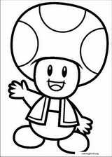 Super Mario Bros. coloring page (029)