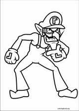Super Mario Bros. coloring page (035)