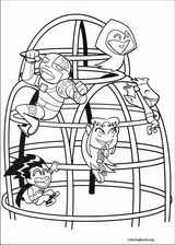 Teen Titans coloring page (008)
