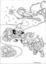 Teen Titans coloring page (011)