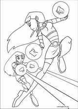 Teen Titans coloring page (022)