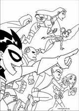 Teen Titans coloring page (034)