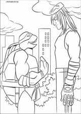 Teenage Mutant Ninja Turtles coloring page (005)