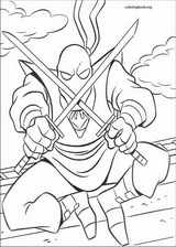 Teenage Mutant Ninja Turtles coloring page (013)