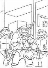 Teenage Mutant Ninja Turtles coloring page (027)