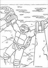 Teenage Mutant Ninja Turtles coloring page (028)