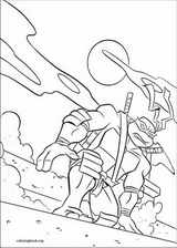 Teenage Mutant Ninja Turtles coloring page (029)