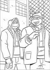 Teenage Mutant Ninja Turtles coloring page (031)