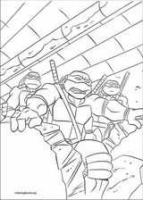Teenage Mutant Ninja Turtles coloring page (034)