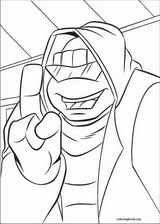 Teenage Mutant Ninja Turtles coloring page (035)