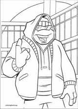 Teenage Mutant Ninja Turtles coloring page (041)