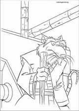 Teenage Mutant Ninja Turtles coloring page (050)