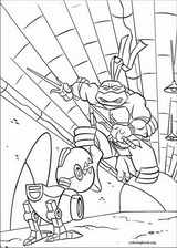 Teenage Mutant Ninja Turtles coloring page (059)