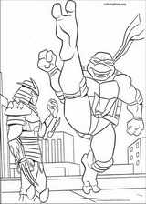 Teenage Mutant Ninja Turtles coloring page (060)