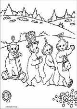 Teletubbies coloring page (016)