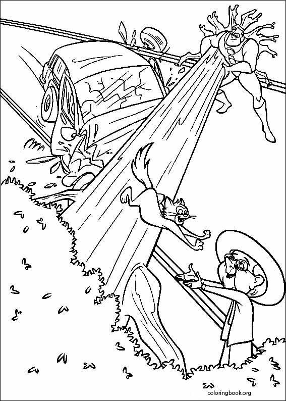 The Incredibles coloring page (007) @ ColoringBook.org
