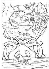 The Lion King coloring page (026)