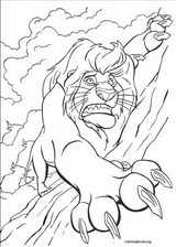 The Lion King coloring page (038)
