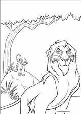 The Lion King coloring page (045)