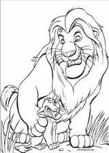 The Lion King coloring page (046)