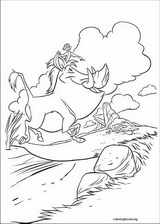 The Lion King coloring page (057)