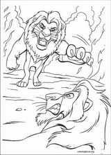 The Lion King coloring page (077)