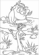 The Lion King coloring page (082)