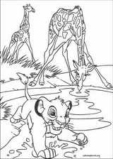 The Lion King coloring page (083)