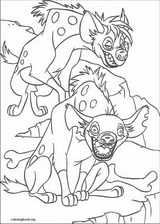 The Lion King coloring page (090)