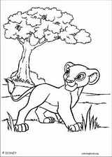 The Lion King coloring page (100)