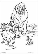 The Lion King coloring page (102)