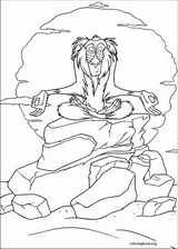 The Lion King coloring page (112)