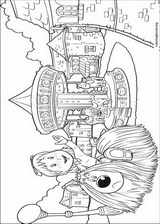 The Magic Roundabout coloring page (003)
