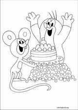 The Mole coloring page (008)