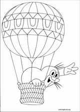 The Mole coloring page (014)