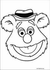 The Muppets coloring page (002)